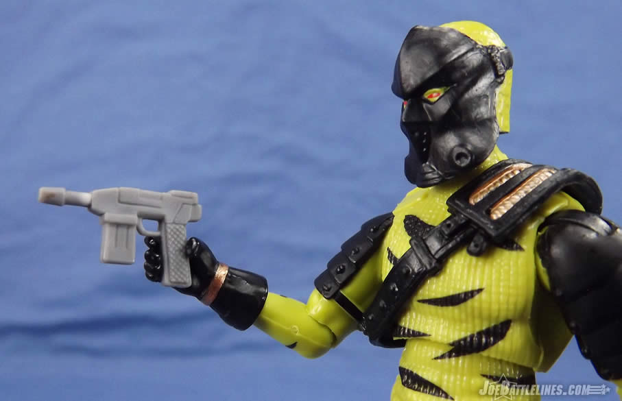 G.I. Joe FSS 5 Darklon automatic pistol