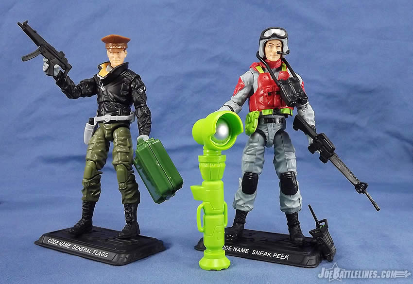 G.I. Joe FSS 5 Sneak Peek General Flagg