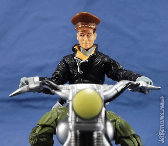 G.I. Joe FSS 5 General Flagg motorcycle