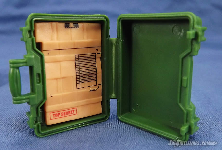 G.I. Joe FSS 5 General Flagg briefcase
