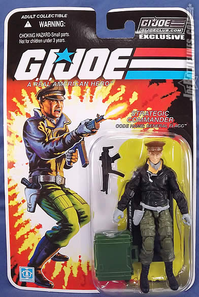 G.I. Joe FSS 5 General Flagg card front