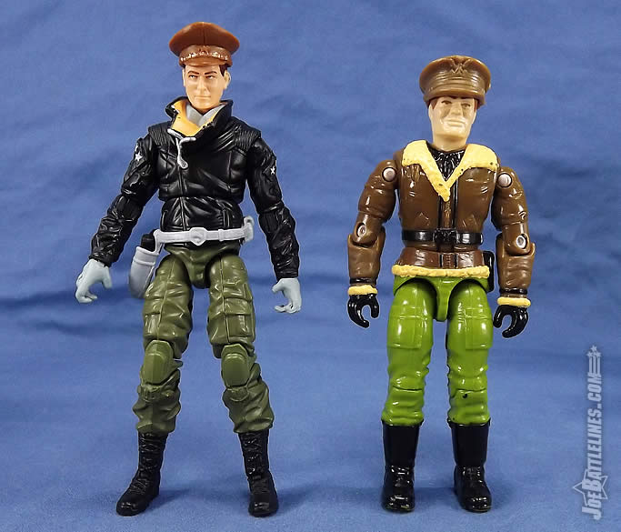 G.I. Joe FSS 5 General Flagg vintage comparison