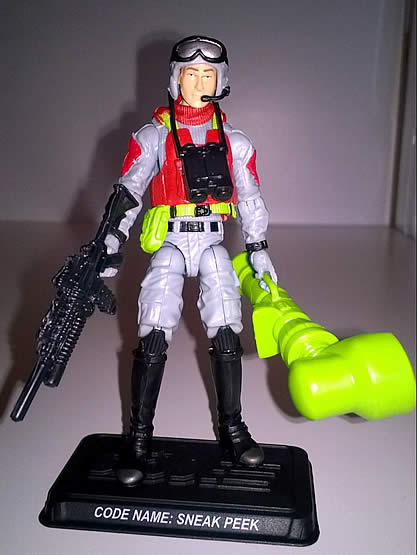 G.I. Joe FSS 5 Sneak Peek Viper legs