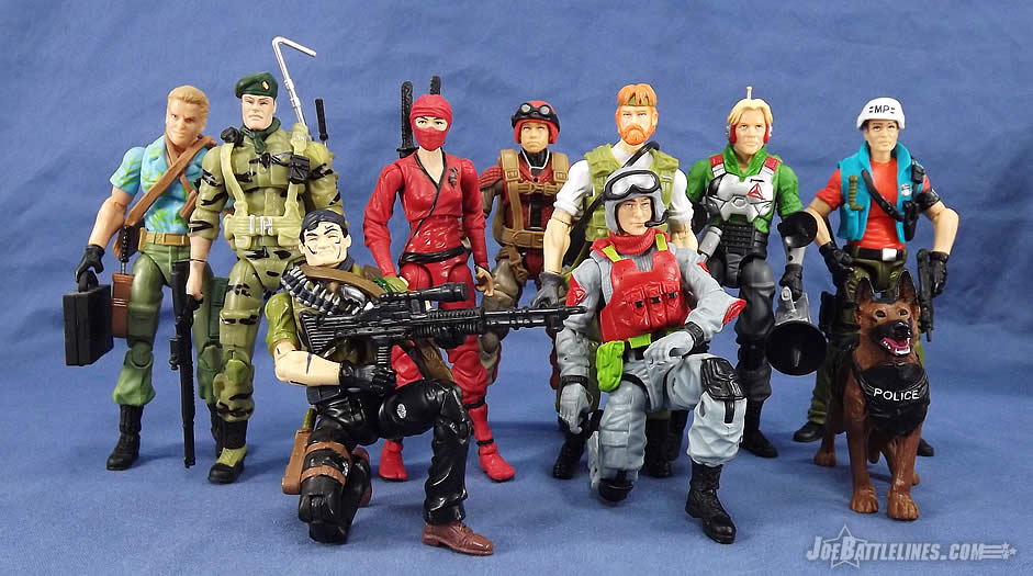 G.I. Joe FSS 5 Sneak Peek 1987 single carded updates