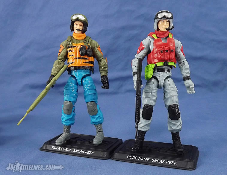 G.I. Joe FSS 5 Sneak Peek Tiger Force comparison