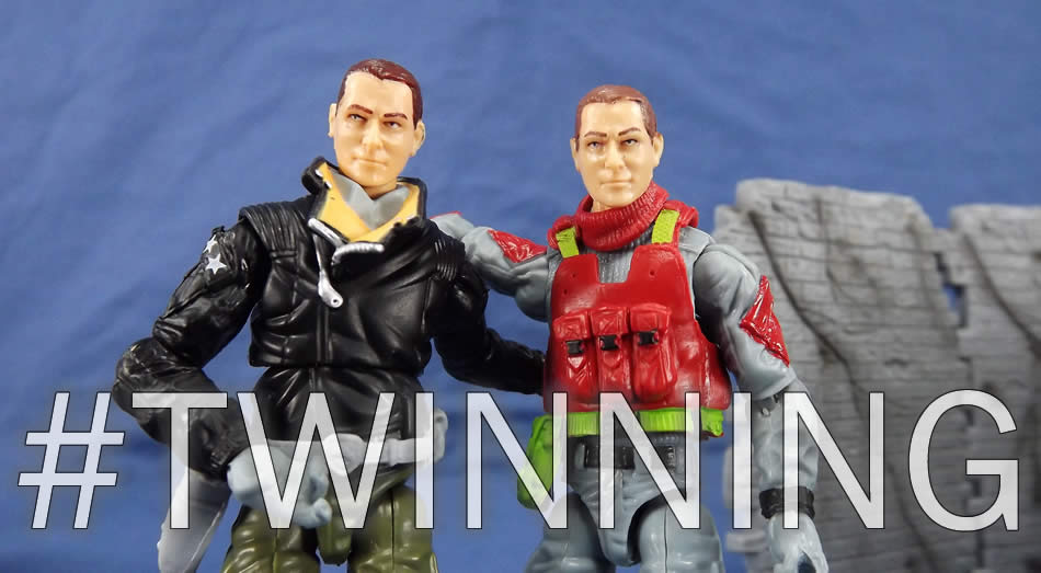 G.I. Joe FSS 5 Sneak Peek General Flagg Twinning