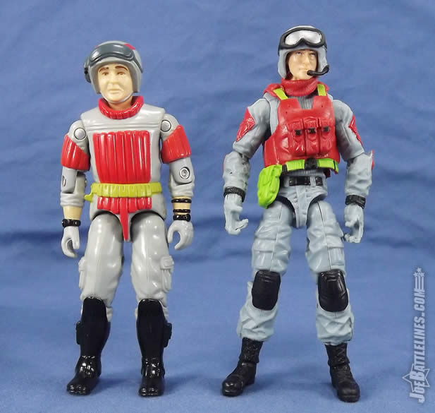 G.I. Joe FSS 5 Sneak Peek vintage comparison