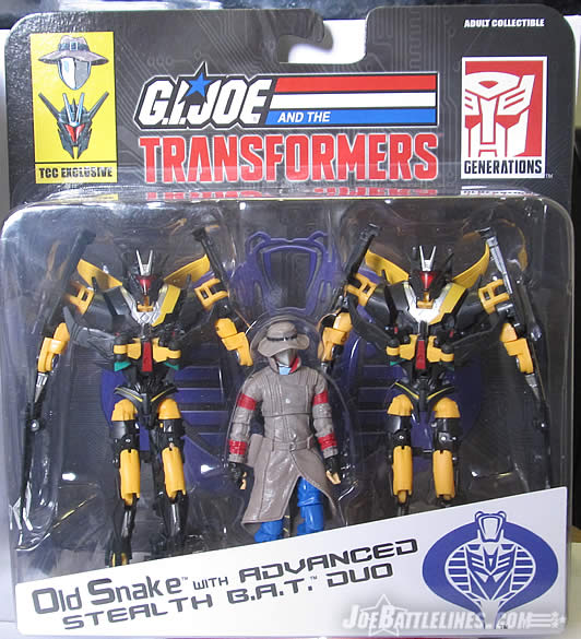 Snakes Is The Direction Game Like Wormies The Lines Are: Review Of G.I. Joe Vs. Transformers Old Snake With