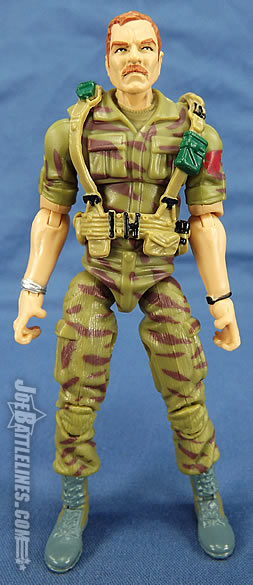 G.I. Joe Collector's Club 2012 Footloose action figure