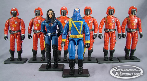 The forces of Cobra!