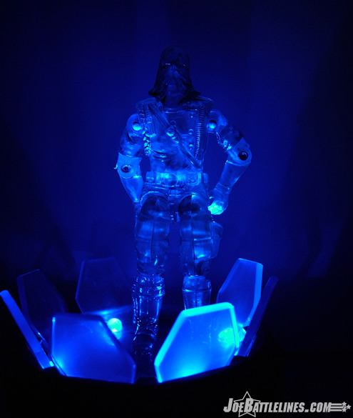 Cobra Commander illuminated