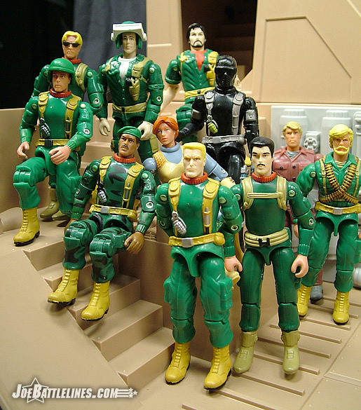 The original GIJoe team-- minus 2.