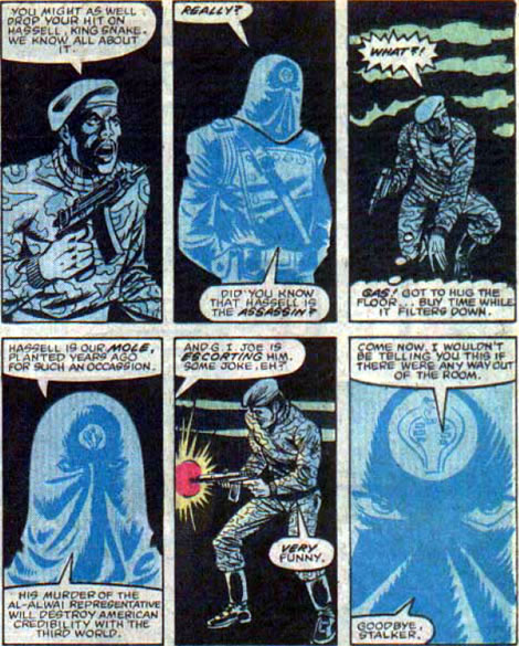 Cobra Commander's comic appearance