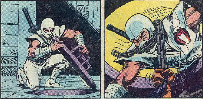 Storm Shadow in Issue #21