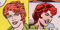 Lady Jaye comic art from issue #44
