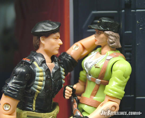 Flint makes his move on Lady Jaye