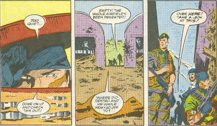 Tunnel Rat's appearance in Issue #76