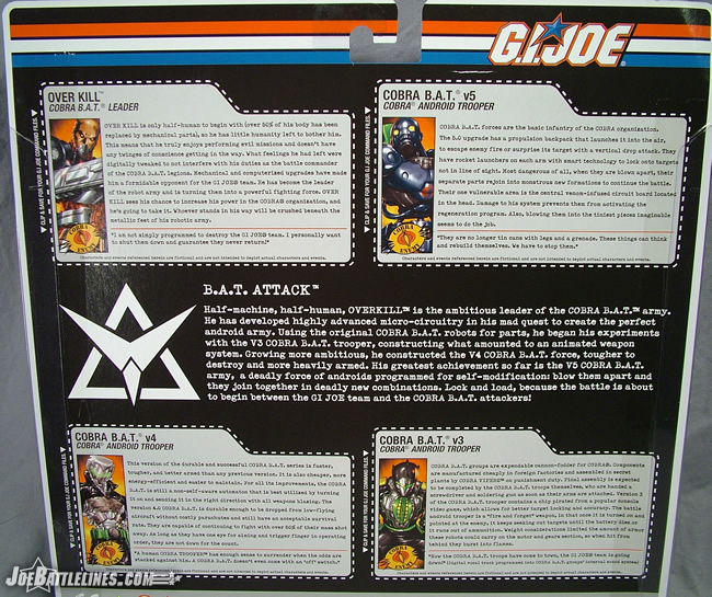 BAT Attack card back