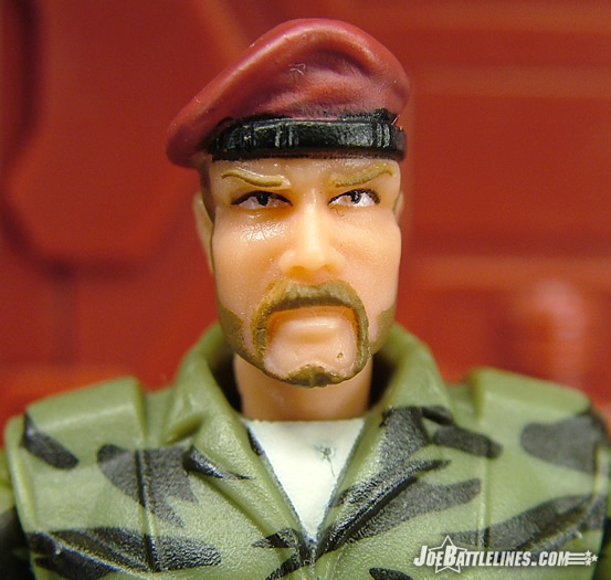 GI Joe closeup