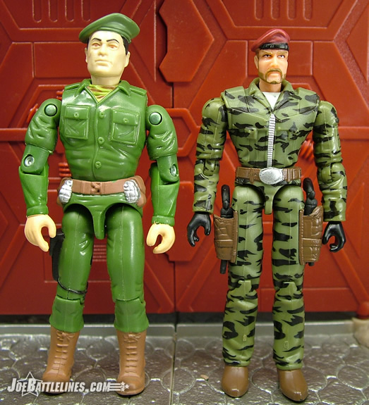 comparison of RAH & DTC GI Joe figures