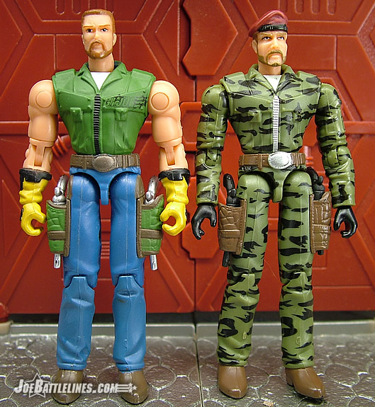 Wild Bill & GI Joe comparison