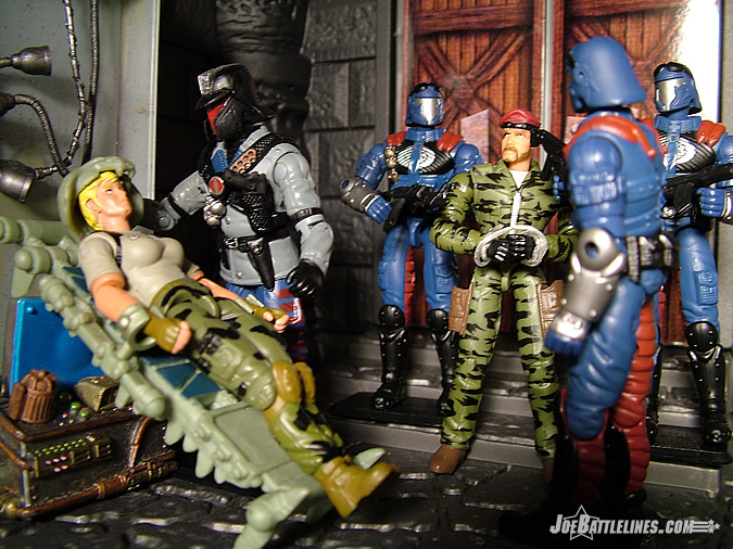 GIJoe & Jane in the Interrogator's lab!