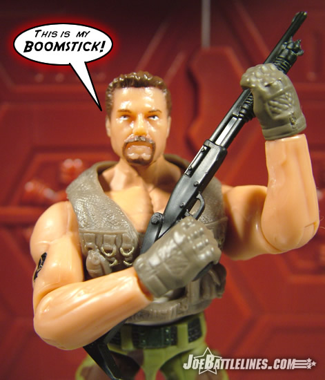 Every man needs a boomstick.