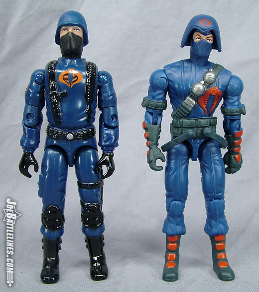 Cobra Trooper & Cobra Infantry Force comparison