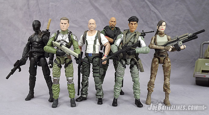 G.I. Joe Retaliation Joe Team