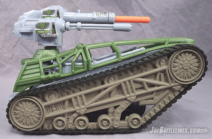 G.I. Joe Retaliation Tread Ripper tank
