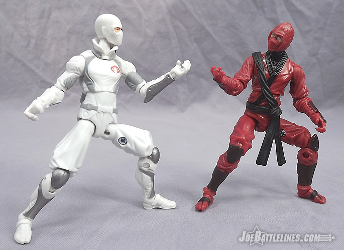 G.I. Joe Retaliation Red Ninja vs Storm Shadow
