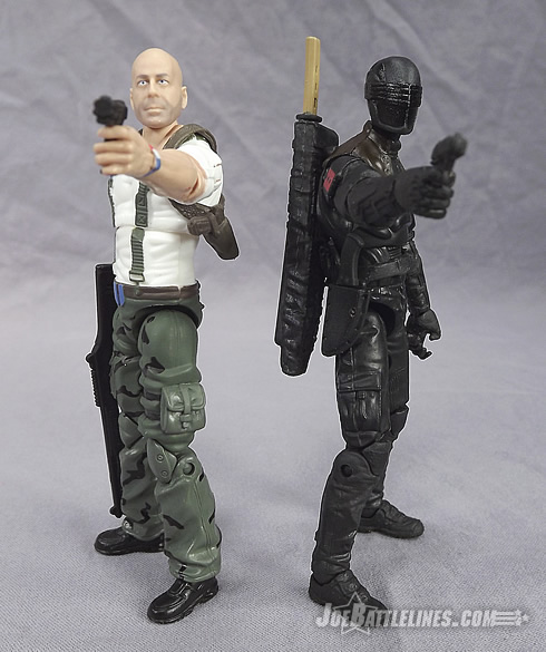 G.I. Joe Retaliation Ninja Duel Snake Eyes and Joe Colton