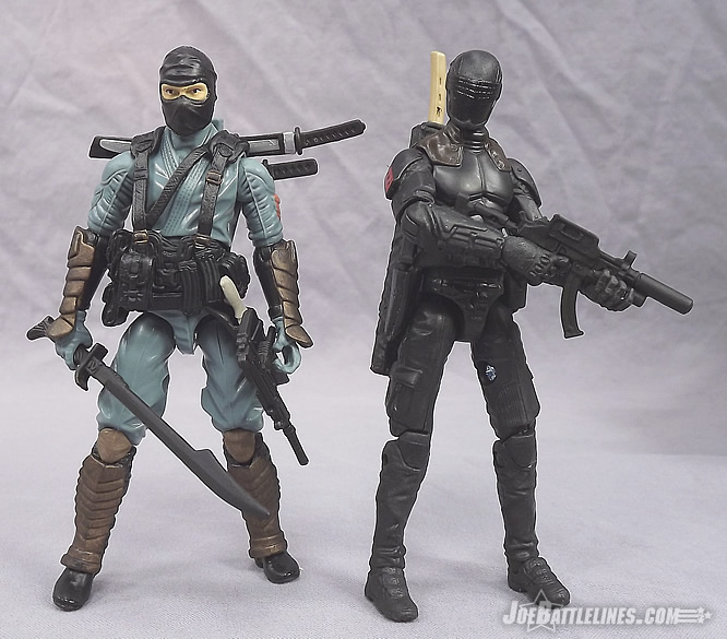 G.I. Joe Retaliation Ninja Duel Snake Eyes and Kamakura
