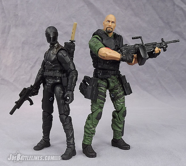 G.I. Joe Retaliation Ninja Duel Snake Eyes and Roadblock