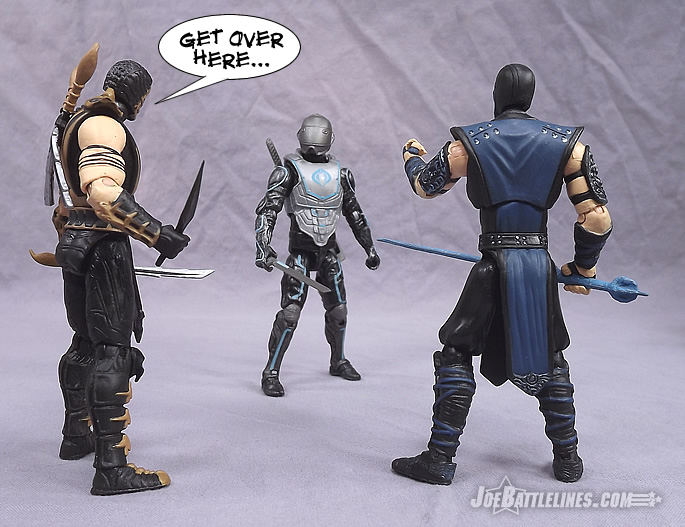 JoeBattlelines: Review of G I  Joe Retaliation Cyber Ninja action figure