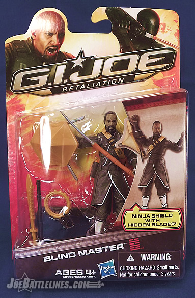 G.I. Joe Retaliation Blind Master