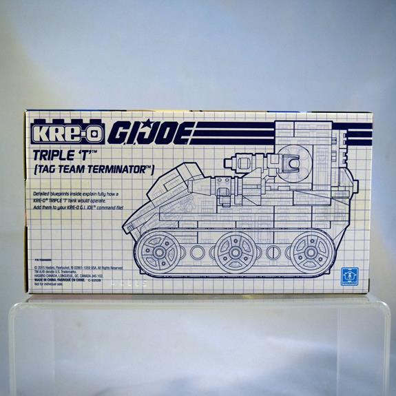 Gi Joe Triple T 1986 Engine cover Vehicle part