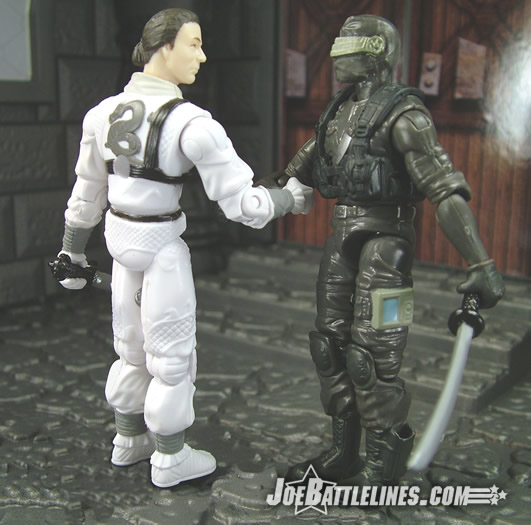 Storm Shadow & Snake Eyes -- truce?