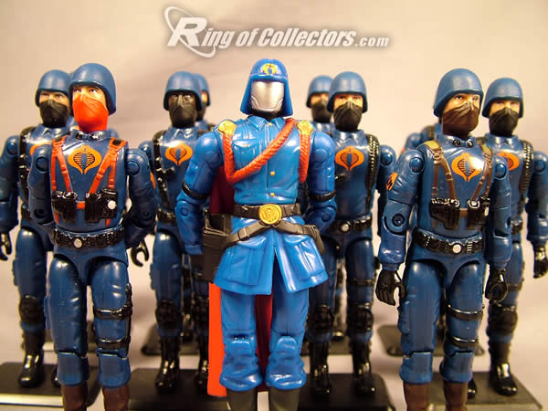Cobra Commander with the troops
