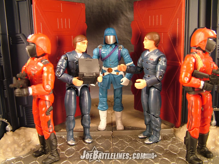 Twins making the deal with Cobra Commander