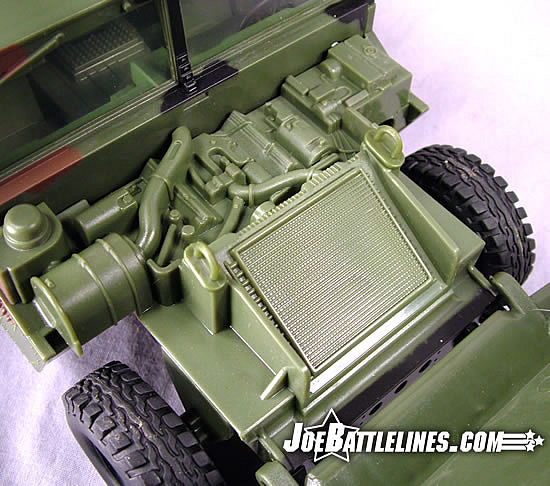 Jungle Strike Humvee engine