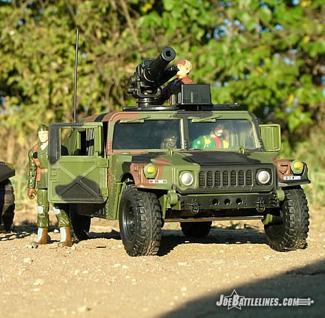 Jungle Strike Humvee with Clutch and Hawk