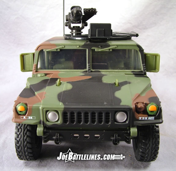 Jungle Strike Humvee forward view