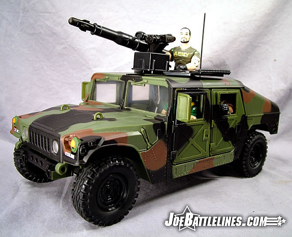 Jungle Strike Humvee crewed!