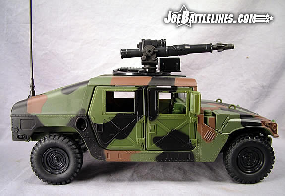 Jungle Strike Humvee side