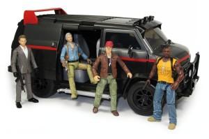 Jazwares A-Team movie figures & van