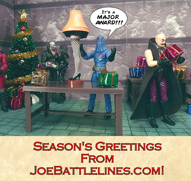 Happy Holidays from JoeBattlelines.com