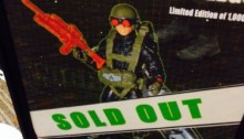 G.I. Joe Convention 2014 Night Force Crazy Legs Paratrooper