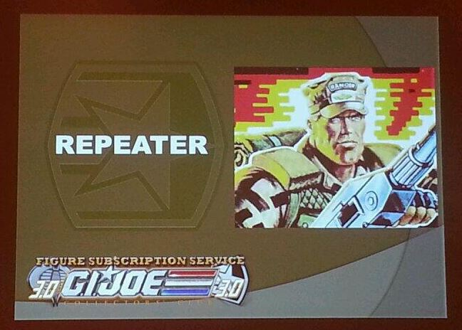 G.I. Joe Collector's Club FSS 3 Repeater