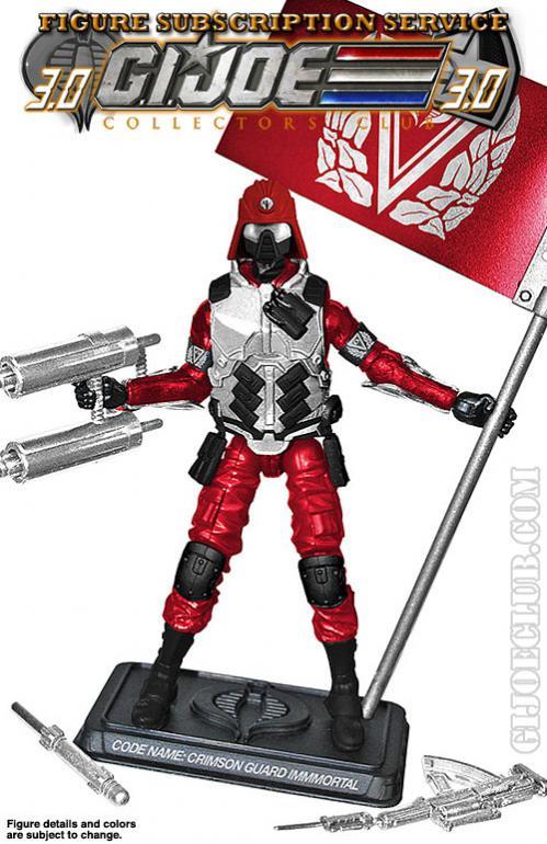G.I. Joe Collector's Club FSS Crimson Guard Immortal